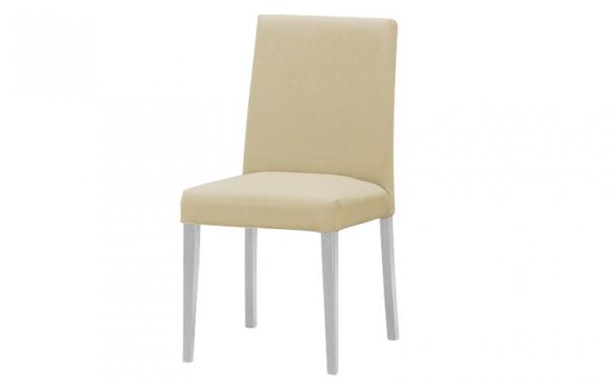 Jídelní židle Uno(bílá/carabu crema 86)