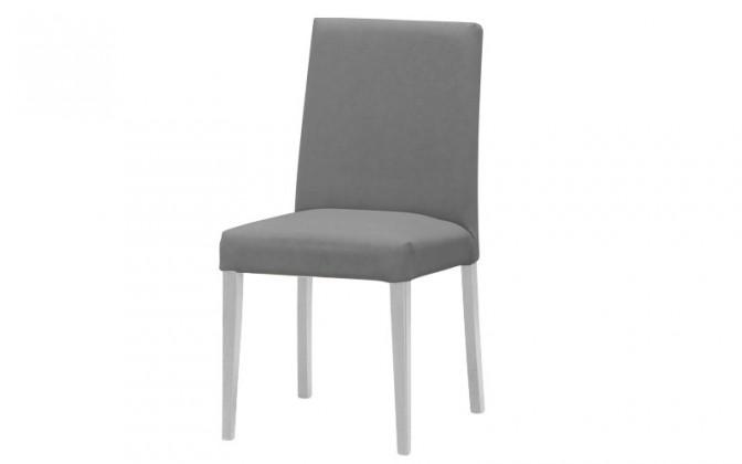 Jídelní židle Uno(bílá/carabu grigio 77)