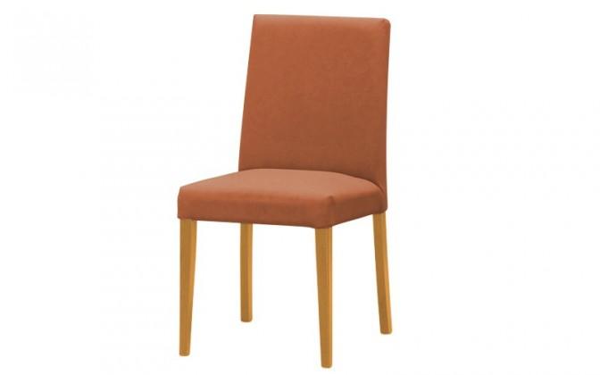 Jídelní židle Uno(buk/carabu terracotta 75)