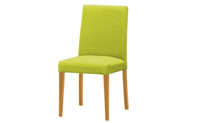 Jídelní židle Uno(buk/carabu verde chiaro 96)