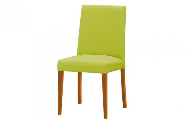 Jídelní židle Uno(olše/carabu verde chiaro 96)