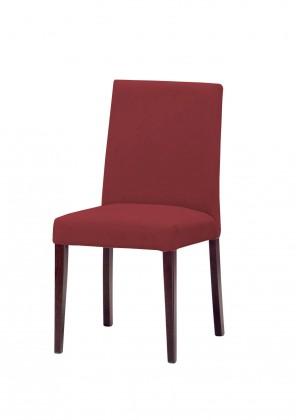 Jídelní židle Uno(tm.hnědá/carabu bordo 80)