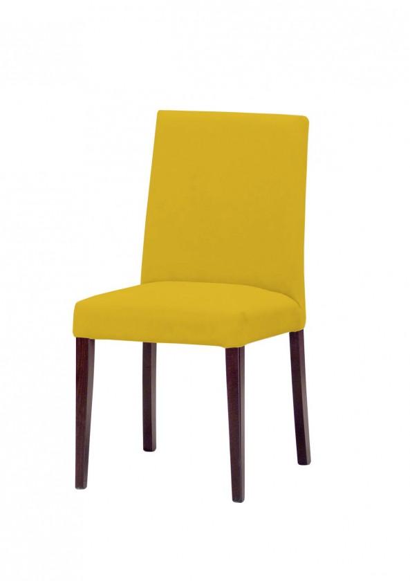 Jídelní židle Uno(tm.hnědá/carabu giallo 131)
