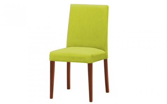 Jídelní židle Uno(třešeň/carabu verde chiaro 96)