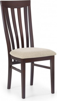 Jídelní židle Venus  (béžová vila 2, ořech tmavý)