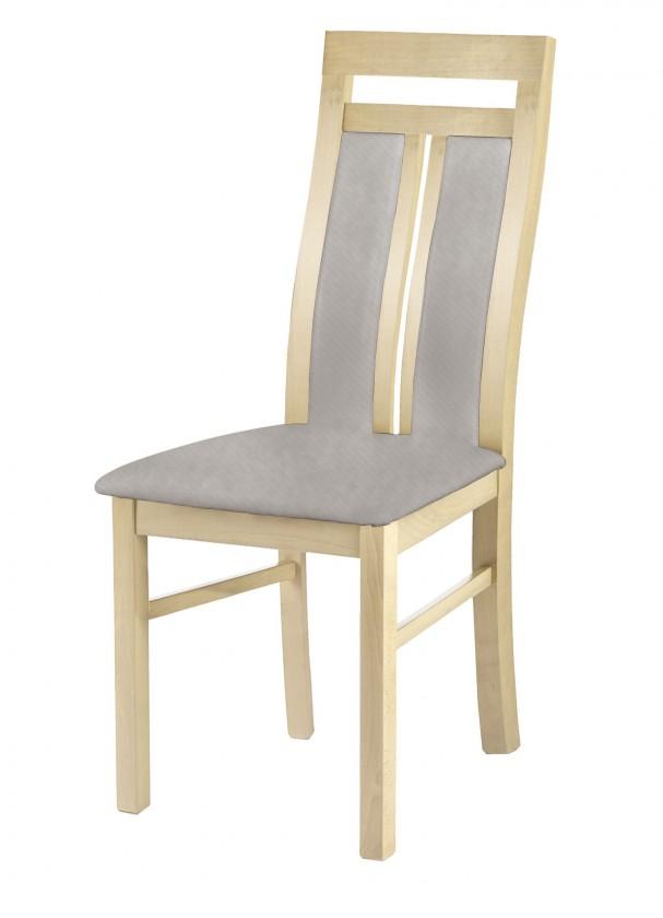 Jídelní židle Werona - jídelní židle (dřevo - dub sonoma/potah - látka)
