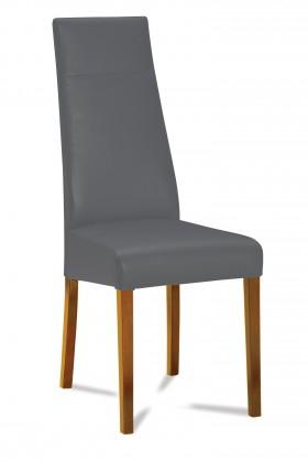 Jídelní židle Wolfa (dub/látka carabu šedá)