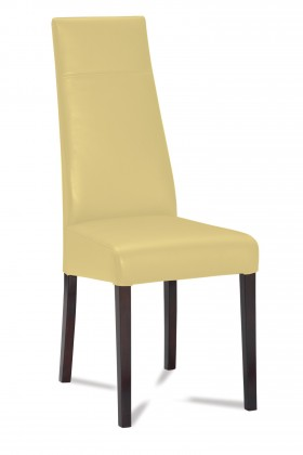 Jídelní židle Wolfa (wenge/eko kůže vienna béžová)