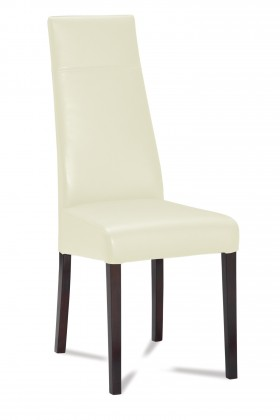 Jídelní židle Wolfa (wenge/eko kůže vienna krémová)