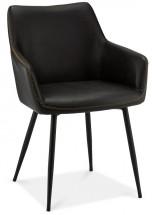 Jídelní židle Zalea černá