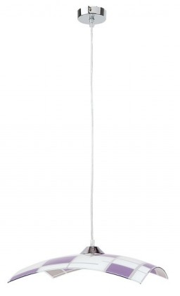 Jody - Stropní osvětlení, E27 (bílá/fialová)