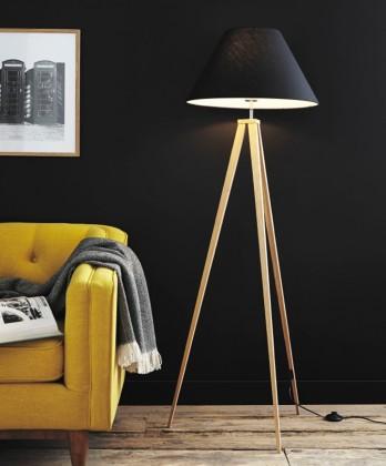 Jolli - lampa, 60W, E27 (černá)
