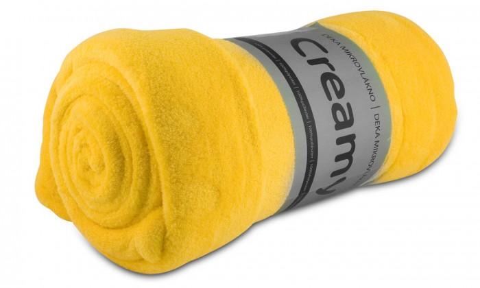 Jolly - Deka, mikrovlákno (žlutá)