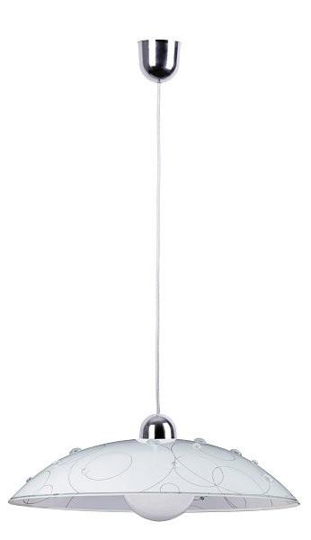 Jolly - Stropní osvětlení, E27 (bílá se vzory)