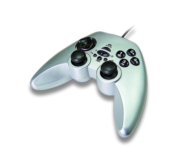 Joy Gamepad GEMBIRD DUALFORCE USB Vibration