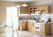 Julia - Kuchyně, 270x110 cm (dub arlington, traini beige)