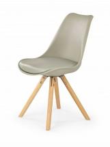 K201 - Jídelní židle (khaki, buk)