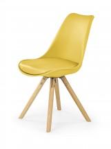 K201 - Jídelní židle (žlutá, buk)