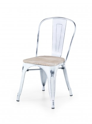 K204 - Jídelní židle (bílá)