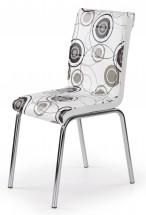 K262 - Jídelní židle (chrom, eko kůže)