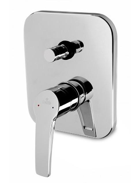 Kamela - Sprchová baterie podomítková s přepínačem (chrom)