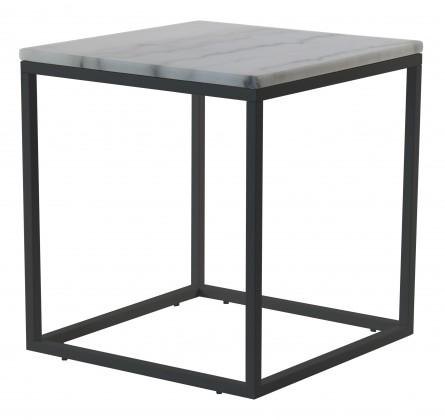 Kamenné konferenční stolky Konferenční stolek Accent - čtverec (mramor, černá)