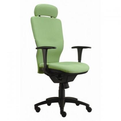 Kanceláře ZLEVNĚNO Ema šéf (Suedine 59, zelená)