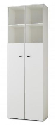 Kancelářská skříň GW-Montreal - Skříň 211 (bílá 8978)