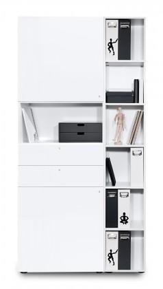 Kancelářská skříň Work - Skříň (bílá)