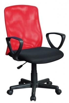 kancelářská židle Alex-černočervená