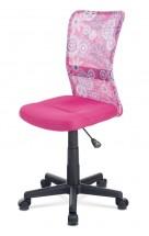 Kancelářská židle Alice růžová