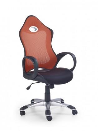 kancelářská židle Ariel (Černá/Oranžová)