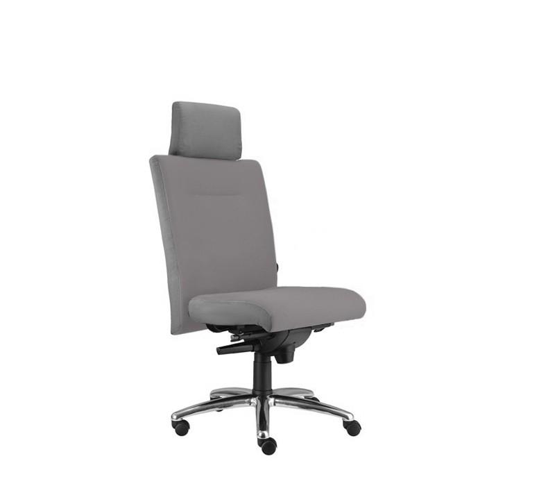kancelářská židle Asidum s podhlavníkem, synchro P (alcatraz 29, sk.3)