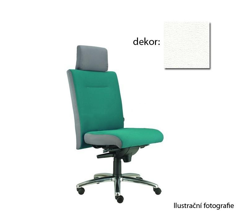 kancelářská židle Asidum s podhlavníkem, synchro P (koženka 51, sk.3)