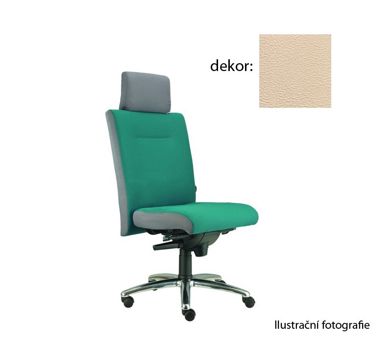 kancelářská židle Asidum s podhlavníkem, synchro P (koženka 96, sk.3)