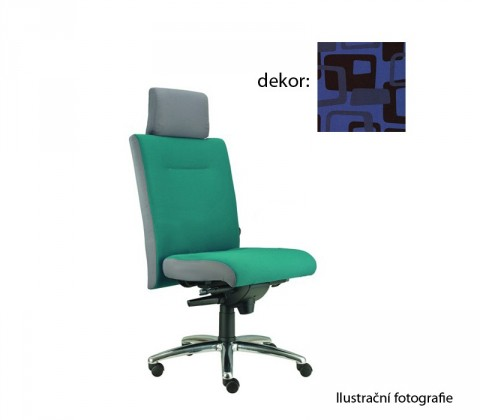 kancelářská židle Asidum s podhlavníkem, synchro P (norba 82, sk.4)