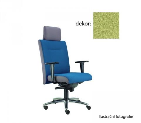 kancelářská židle Asidum s područkami a podhlavníkem,synchro P (bondai 7032, sk.2)