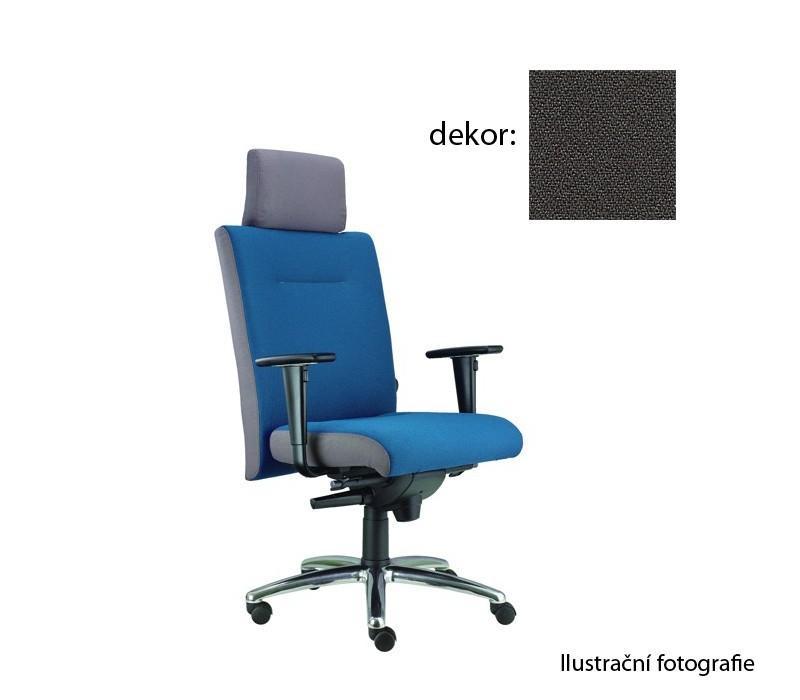 kancelářská židle Asidum s područkami a podhlavníkem,synchro P (bondai 8010, sk.2)