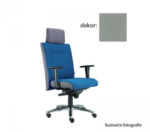 kancelářská židle Asidum s područkami a podhlavníkem,synchro P (bondai 8078, sk.2)