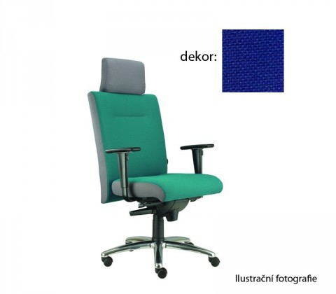 kancelářská židle Asidum s područkami a podhlavníkem, synchro P (favorit 6, sk.1)