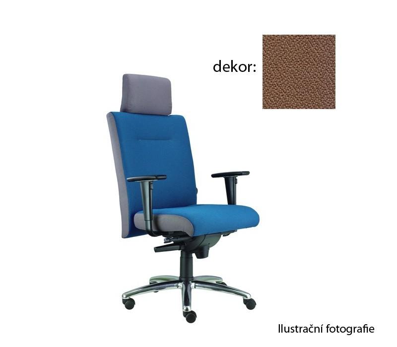 kancelářská židle Asidum s područkami a podhlavníkem,synchro P (phoenix 111, sk.3)