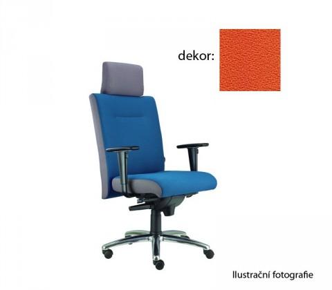 kancelářská židle Asidum s područkami a podhlavníkem,synchro P (phoenix 113, sk.3)