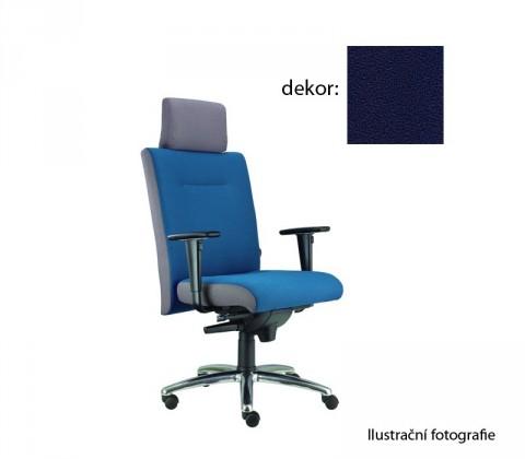 kancelářská židle Asidum s područkami a podhlavníkem, synchro P (phoenix 24, sk.3)