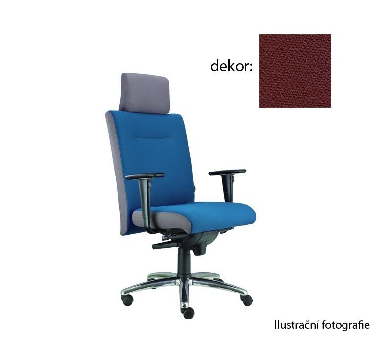 kancelářská židle Asidum s područkami a podhlavníkem, synchro P (phoenix 51, sk.3)