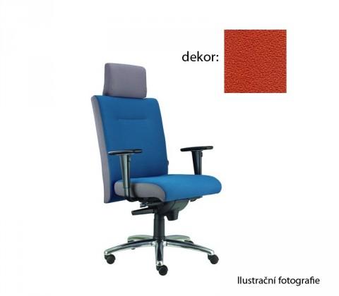 kancelářská židle Asidum s područkami a podhlavníkem, synchro P (phoenix 76, sk.3)