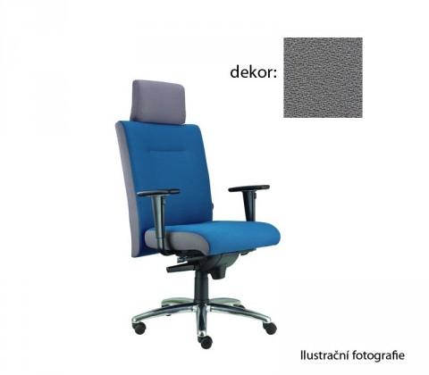 kancelářská židle Asidum s područkami a podhlavníkem, synchro P (phoenix 81, sk.3)