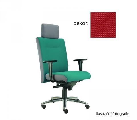 kancelářská židle Asidum s područkami a podhlavníkem, synchro P (pola 170, sk.4)
