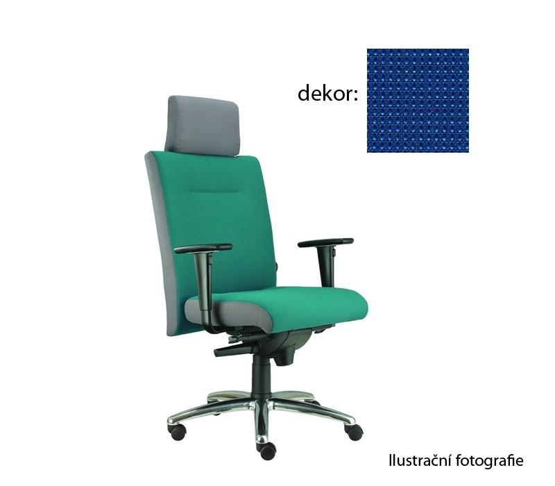 kancelářská židle Asidum s područkami a podhlavníkem, synchro P (pola 318, sk.4)
