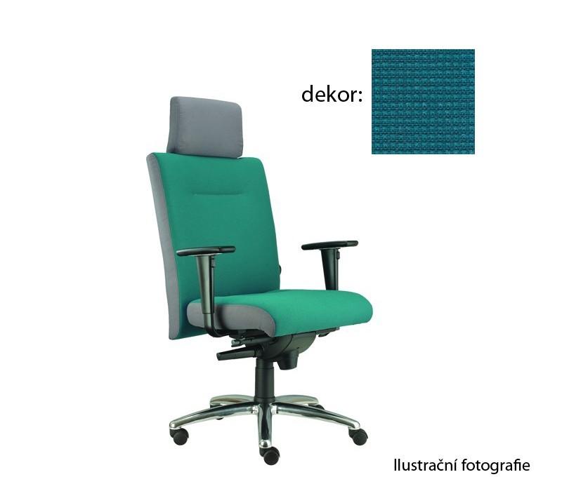 kancelářská židle Asidum s područkami a podhlavníkem, synchro P (pola 362, sk.4)