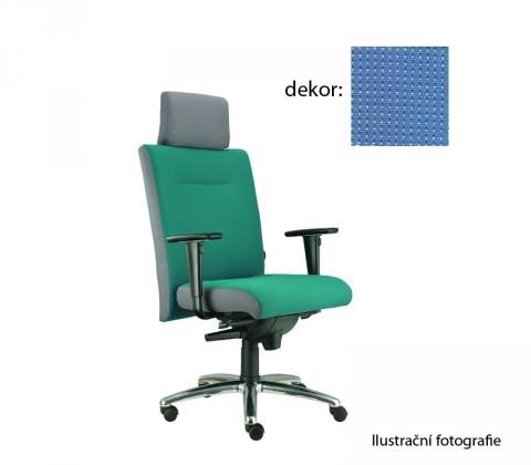 kancelářská židle Asidum s područkami a podhlavníkem, synchro P (pola 375, sk.4)
